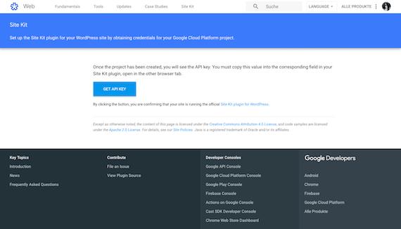 Google Site Kit Plugin für WordPress installieren und einrichten Anleitung von HidenDesign PageSpeed
