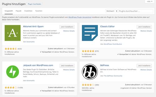 Google Site Kit Plugin in WordPress hochladen HidenDesign