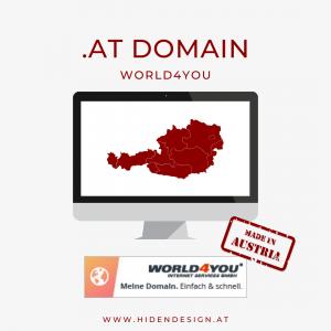 .at Domain World4You
