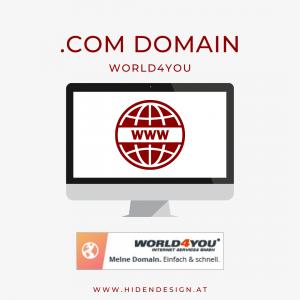 .com Domain World4You