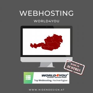 Webhosting World4You Domainserver Paket