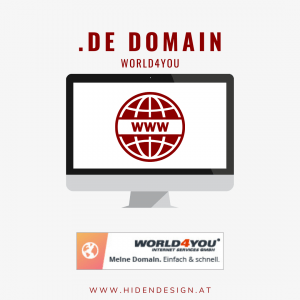.de Domain World4You