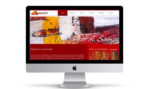 HidenDesign-Webdesign-Kuenstlerin-Kuenstler-Website-Sumps