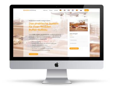 Onlineshop-Website-Webdesign-Speisenverteilung-Kocher