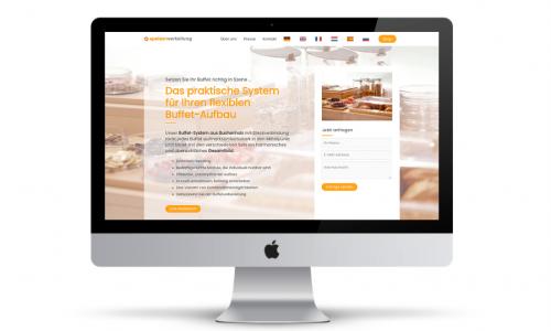 Onlineshop-Website-Webdesign-Speisenverteilung-Kocher