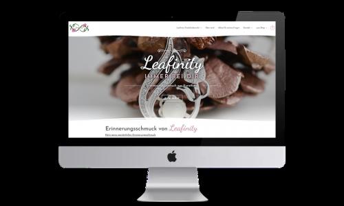 Webdesign-Website-Onlineshop-Leafinity