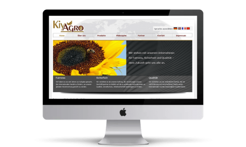 Website Webdesign HidenDesign Kiyagro